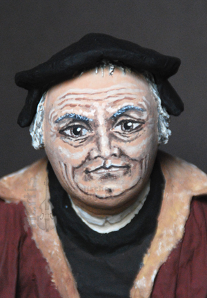 Figuren Luther Portrait